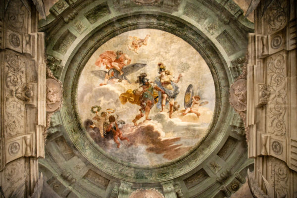 Palazzo Pallavicini di Bologna - Cupola Affrescata