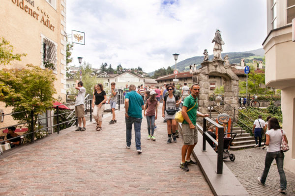 Passeggiata verso Ponte Aquila di Bressanone