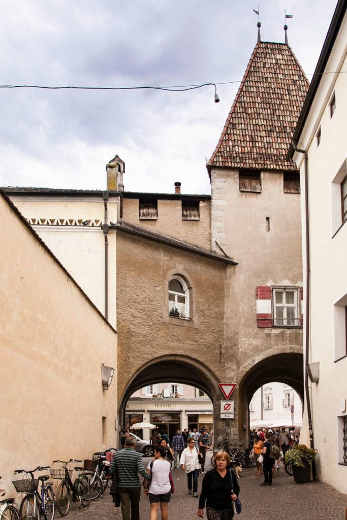 Porta Croce di Bressanone dal centro storico