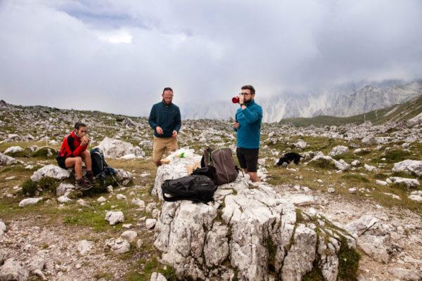 Pranzo al Sacco sul Trekking delle Tre Cime - Rifugio Lavaredo