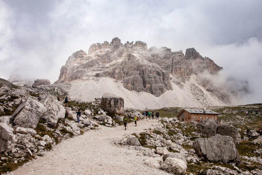 Rifugio Lavaredo - Trekking alle Tre Cime - Cosa fare in Veneto