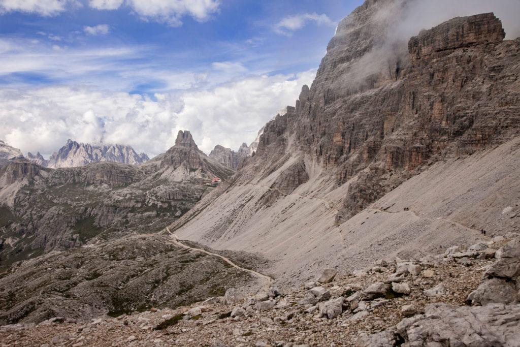 Sentieri nel Parco Naturale tre cime