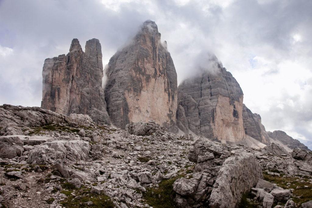 Tre Cime del Lavaredo - Grande 2999 mslm - Ovest 2973 mslm - Piccola 2857 mslm