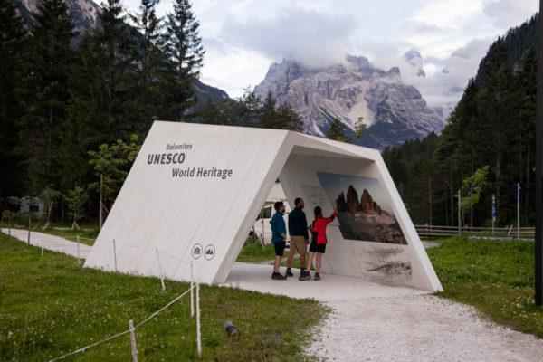 Tre Cime del Lavaredo - Patrimonio dell Unesco - Punto di Osservazione