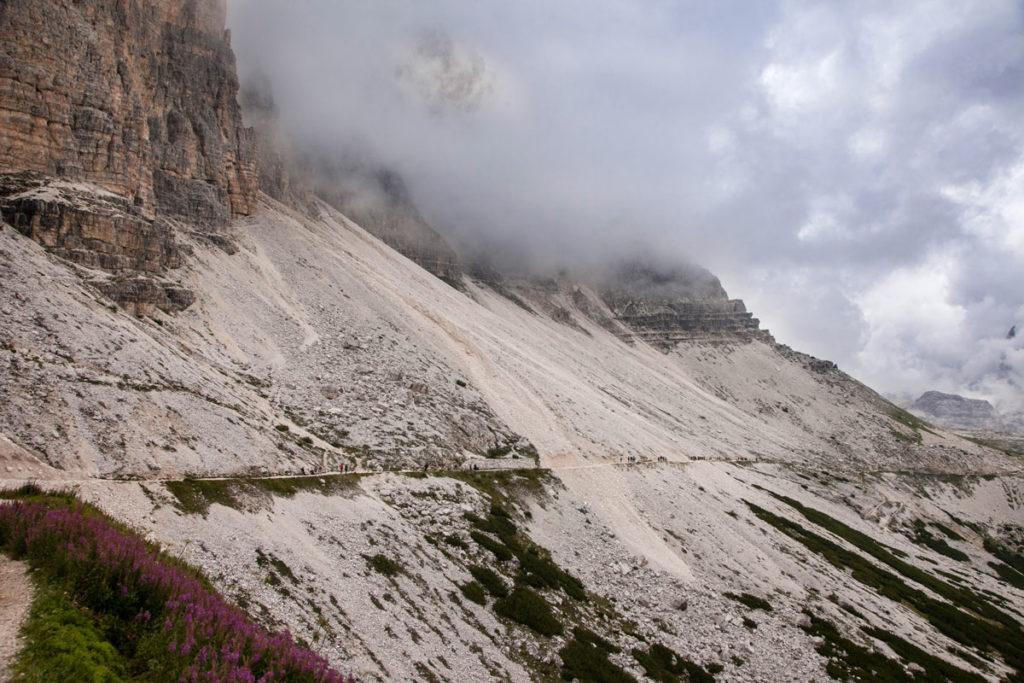 Trekking alle tre cime del Lavaredo