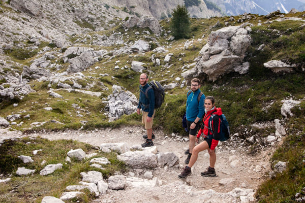 Trekking tra amici - Dolomiti