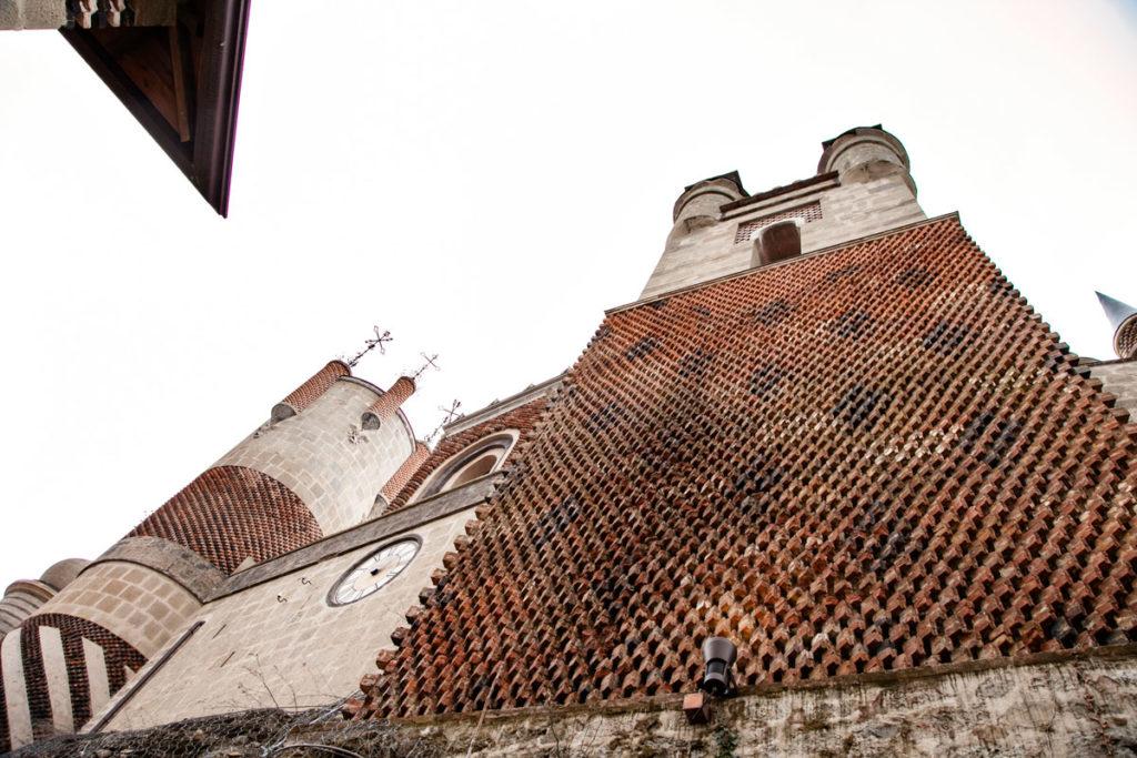 Architettura insolita alla Rocchetta Mattei