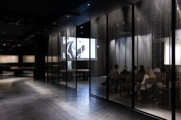 Archivio Digitale - Sala Proiezione degli Spot Armani