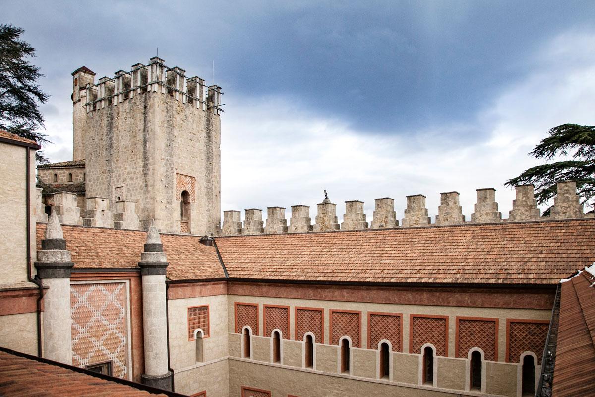 Area Medievale della Rocchetta Mattei - Zona Privata del Conte Cesare Mattei non aperta al pubblico