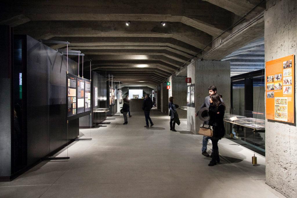 Area sulla proaganda fascista contro gli ebrei - Memoriale Shoah - Binario 21 Milano