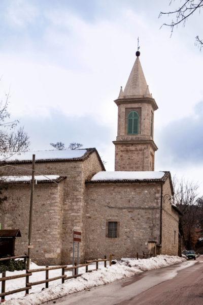 Chiesa di San Cristiforo Labante - Castel d'Aiano - Bologna