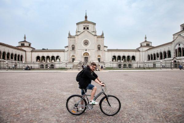 Ciclabili di Milano - Cimitero Monumentale