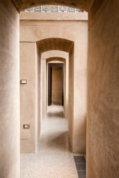 Corridoi intorno al Cortile dei Leoni