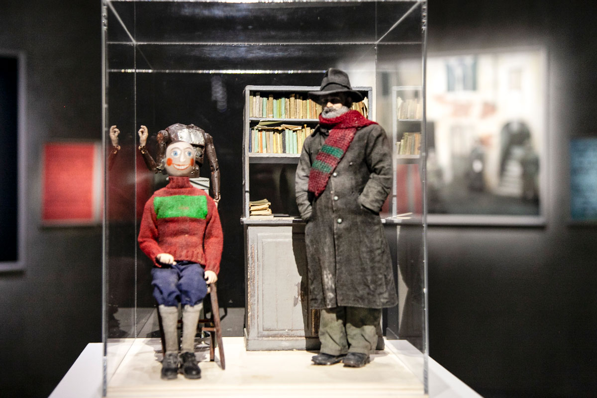 Fantocci di The Automaton - Esposizione Fotografica ad Armani Silos