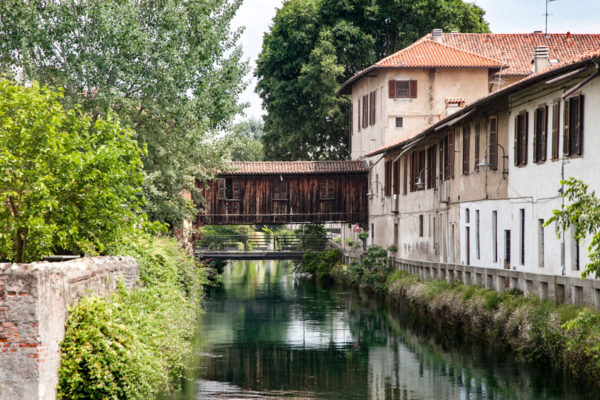 Gorgonzola - Ponte Coperto di Legno