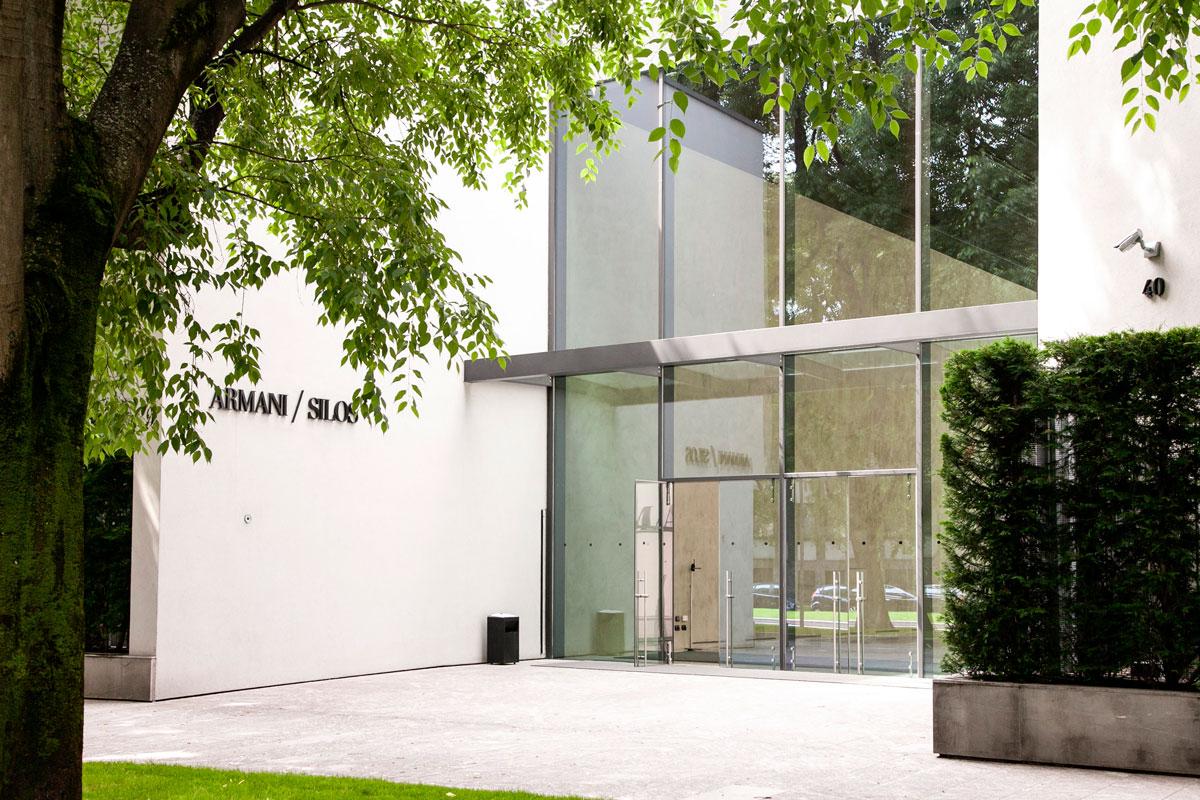 timeless design 13a5b 2efa9 Armani Silos - Il Museo della Moda Armani nel Centro di Milano