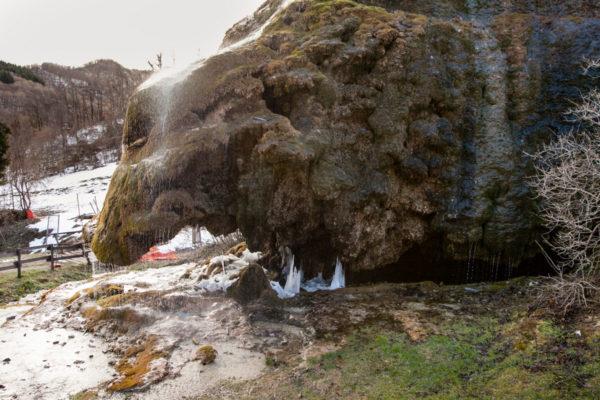 Labante Cascata delle grotte di Travertino