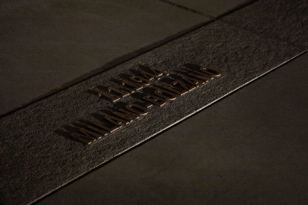 Milano - Bolzano - Deportazione Ebrei - Memoriale della Shoah