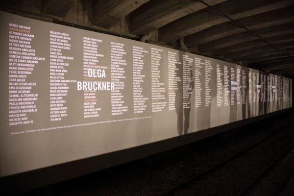 Muro dei Nomi - Memoriale della Shoah - Binario 21
