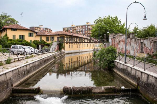 Naviglio della Martesana - Via Melchiorre Gioia Milano