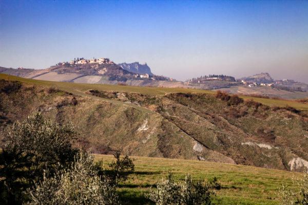 Panorama sul monte Gesso