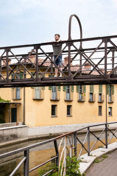 Ponte Pedonale imbocco Naviglio della Martesana