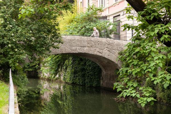 Ponte Vecchio - Piazza dei Piccoli Martiri Naviglio della Martesana