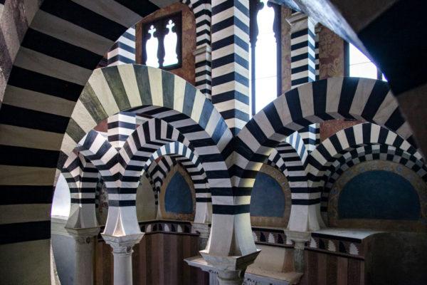 Riproduzione della Mezquita - Moschea di Cordoba a Bologna