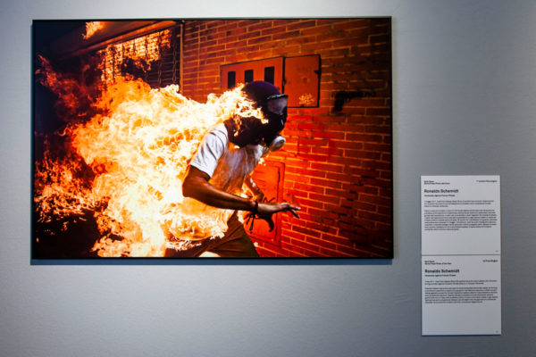 Ronaldo Schemidt - Venezuela - 1° Premio Foto Singola World Press Photo 2018