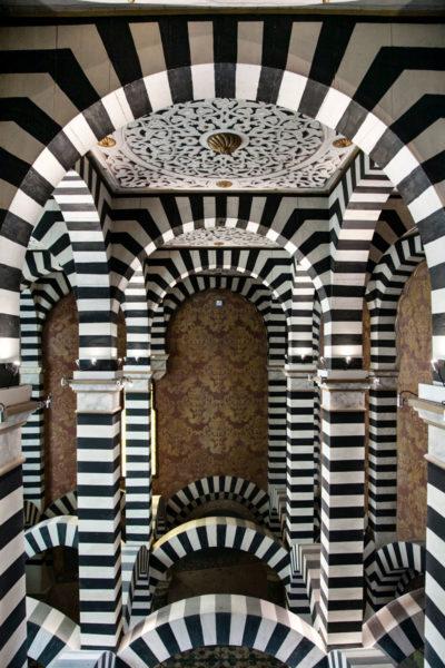 Soffitto della Cappella della Rocchetta Mattei - Bologna