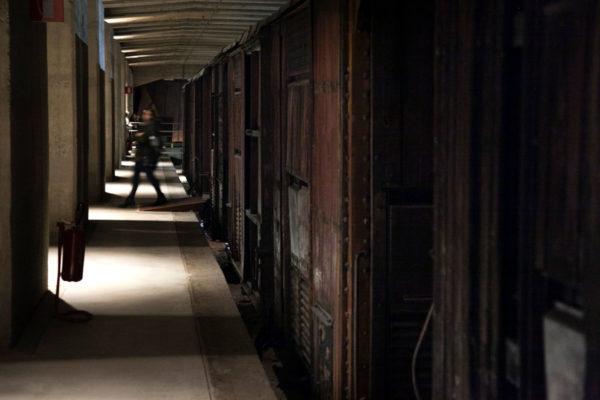 Treno originario della deportazione degli Ebrei - Milano - Memoriale della Shoah