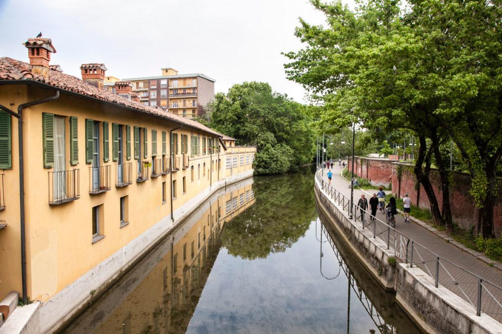 Verde a Milano - Naviglio della Martesana