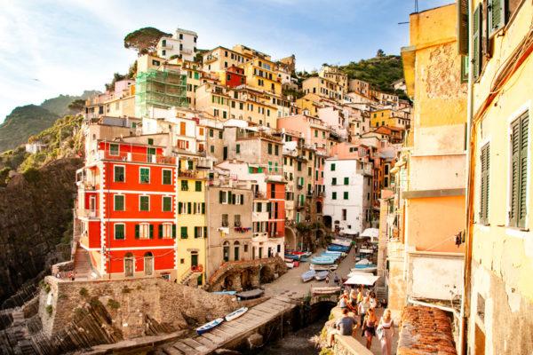 Borgo di Riomaggiore - Vista Panoramica