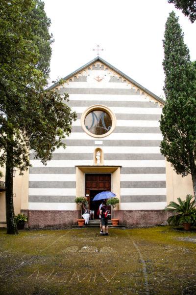 Chiesa di San Francesco di Monterosso al Mare - Facciata