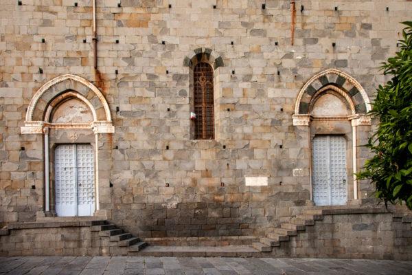Chiesa di San Giovanni Battista - Fiancata con Porte Originali