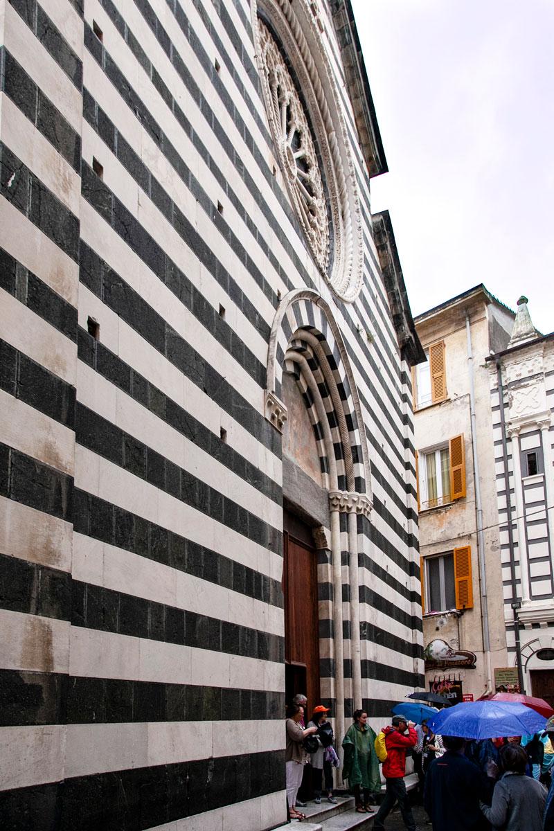 Facciata Chiesa di San Giovanni Battista - Chiesa Principale di Monterosso