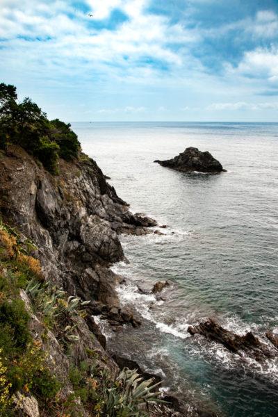 Il Mar Ligure sul Sentiero Azzurro