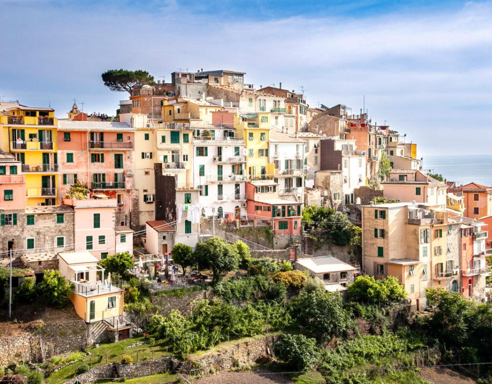 Il borgo di Corniglia - Le Cinque Terre