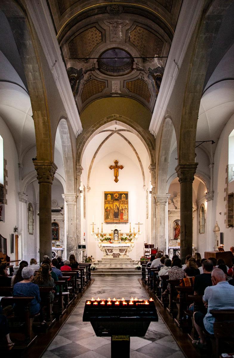 Interni Chiesa di San Lorenzo - Manarola