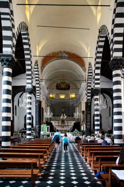 Interni della Chiesa di San Giovanni Battista