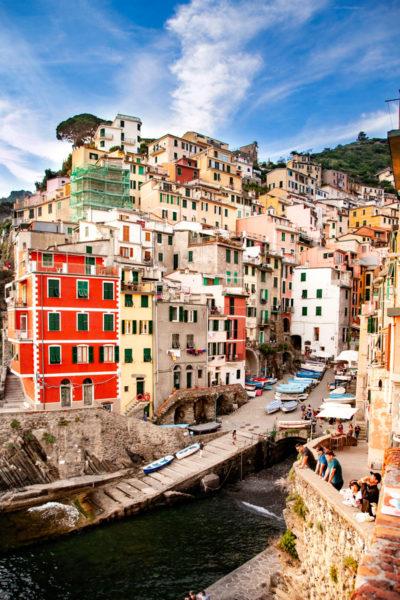 Le case colorate del Borgo di Riomaggiore