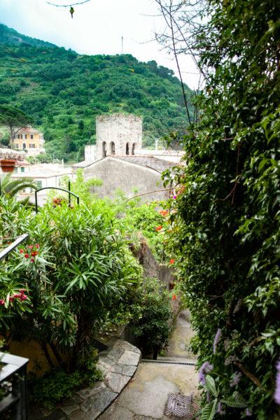 Panorama di Monterosso al Mare - In mezzo al verde
