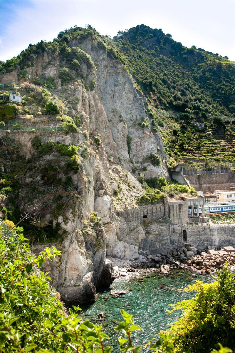 Panorama sulle Rocce del Parco Naturale delle Cinque Terre