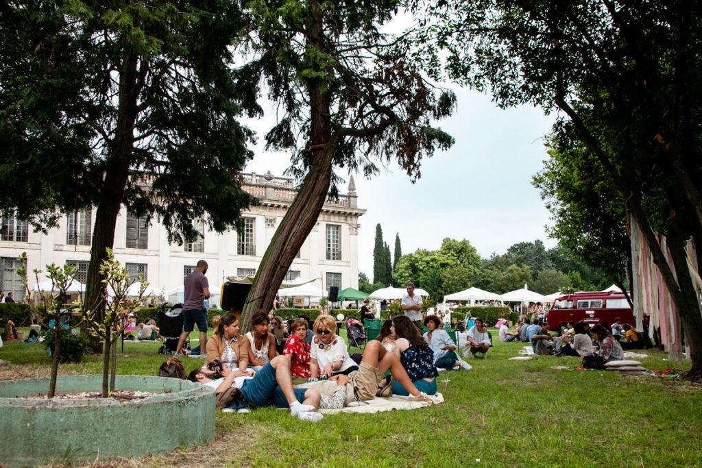Parco di Villa Des Vergers - Relax tra street food e bancherelle del Gipsy Garden