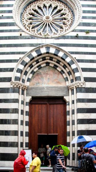 Portone di Ingresso Chiesa di San Giovanni Battista - Monterosso al Mare