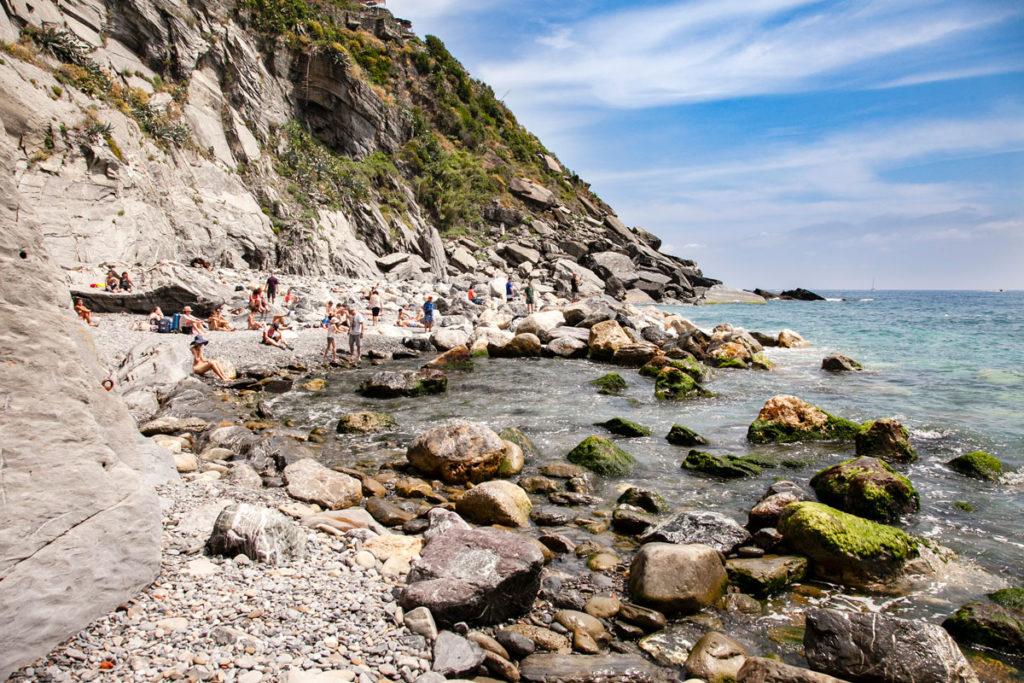 Spiaggia Segreta di Vernazza