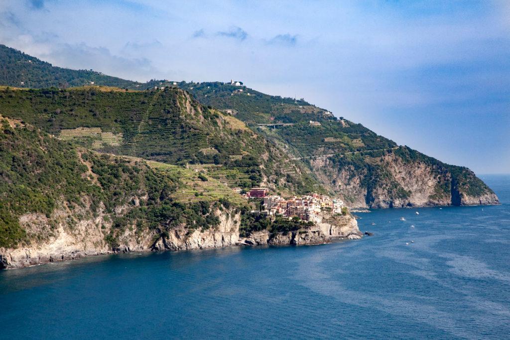 Terrazza di Corniglia - Vista sul Mar Ligure