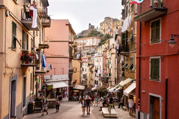 Via Principale del Centro Storico di Riomaggiore