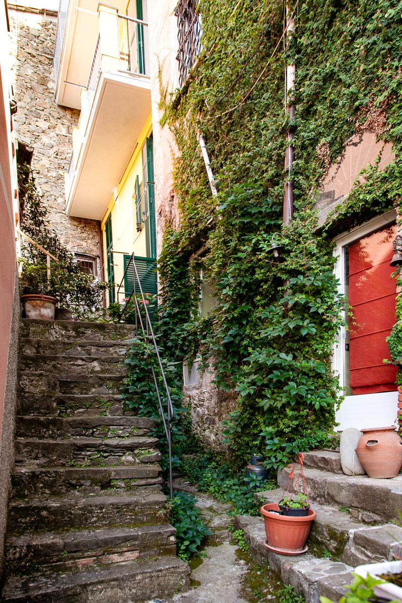 Vicoli del centro storico di Corniglia