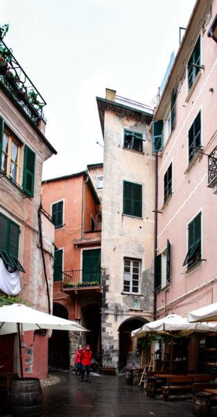 Vicoli del centro storico di Monterosso